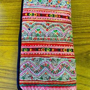 Pretty pink wallet